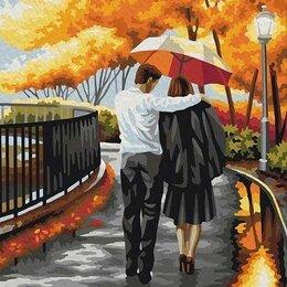 Раскраски и роспись - Картина по номерам 40х50 -Осень, 0