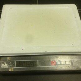 Весы - Настольные электронные весы МК-15.2-А21 (до 15 кг), 0