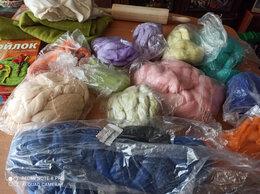 Рукоделие, поделки и товары для них - Австралийская шерсть мериносовая, шёлк японский,…, 0