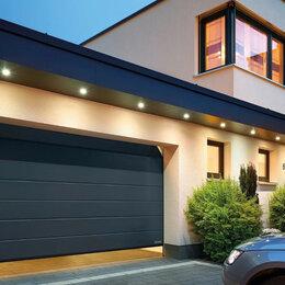 Заборы, ворота и элементы - Секционные ворота в гараж 3х3,5м, 0