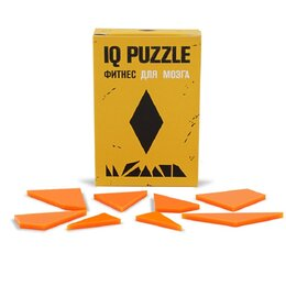 Головоломки - Головоломка IQ PUZZLE ромб, 0