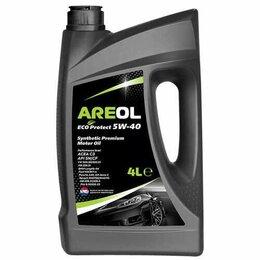 Масла, технические жидкости и химия - AREOL ECO Protect 5W40 (4L) масло моторн.! синт, 0