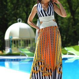 Платья - Дизайнерское платье р.46-48, 0