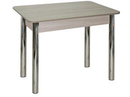 Столы и столики - Стол обеденный Люкс 1 (ясень шимо светлый), 0