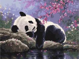 Раскраски и роспись - Картины по номерам Paintboy Панда у воды, 0