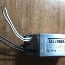 Трансформаторы - Электронный трансформатор 12В 60Вт., 0