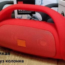 Портативная акустика - блютуз колонка громкая, 0