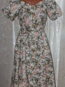 Платья - Красивое новое платье на пуговицах рр 44-46-48 с…, 0