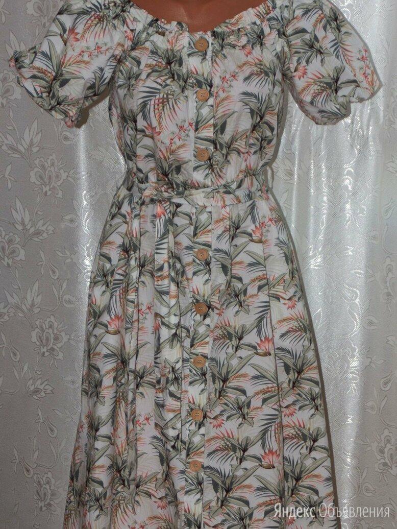 Красивое новое платье на пуговицах рр 44-46-48 с поясом. по цене 1300₽ - Платья, фото 0