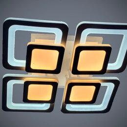 Люстры и потолочные светильники - Светильник LED потолочный 8022/4 176 W с ПДУ, 0