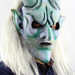 Карнавальные и театральные костюмы - Маскадля хэллоуин праздника демон с волосами новая, 0