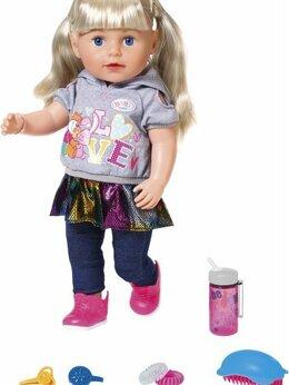 Куклы и пупсы - Кукла Сестричка Zapf Creation Baby born 824-603, 0