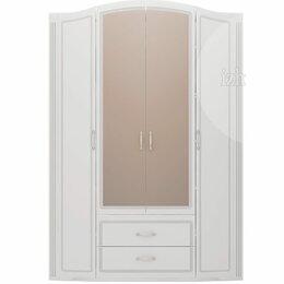Шкафы, стенки, гарнитуры - Шкаф Виктория 4-х дверный с зеркалом (2), 0