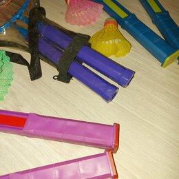 Ракетки - Наборы из 2 ракеток плюс волан для детского бадминтона, 0