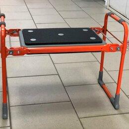 Скамейки - Скамейка перевёртыш садовая Ника до 100 кг складная для прополки, 0