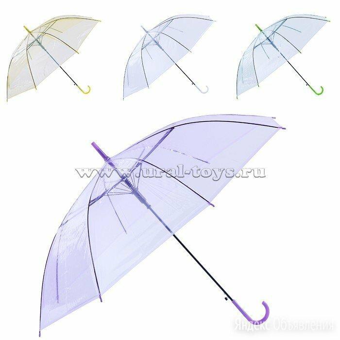 Новый Зонт детский прозрачный по цене 215₽ - Зонты, фото 0