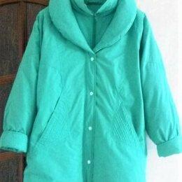 Пуховики - Пуховики-куртки-пальто, натуральный пух, 0