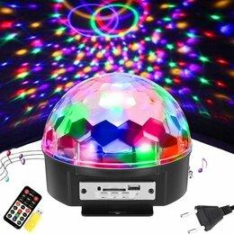 "Ночники и декоративные светильники - Диско шар с mp3 ""Led Magic Ball Light"" с USB, 0"