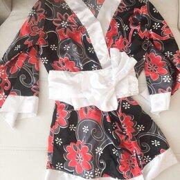 Домашняя одежда - Халат в китайском стиле , 0