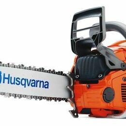 Электро- и бензопилы цепные - Бензиновая пила HUSQVARNA (Хускварна) 555, 0