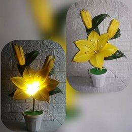 Настольные лампы и светильники - Светильник ручной работы, 0