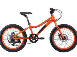 """Велосипеды - Велосипед WELT Fat Freedom 20"""" (2020) (оранжевый), 0"""