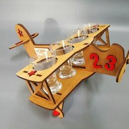 Подставки и держатели - Подставка под рюмки Самолет, 0