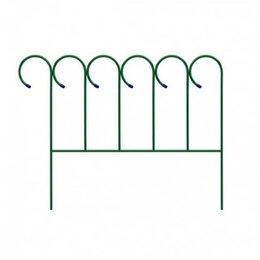 Заборчики, сетки и бордюрные ленты - Забор декоративный металлический, 0