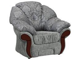 Кресла - Кресло отдыха Глория-23 (декор массив орех), 0