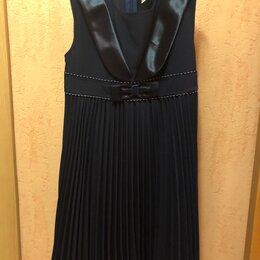 Платья и сарафаны - Сарафан на рост 128 см темно-синий , 0