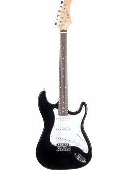 Электрогитары и бас-гитары - Fabio ST100 BK Электрогитара, 6 струн, S/S/S,…, 0