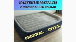Кровати - Надувная кровать матрас Intex Toris двуспальный…, 0