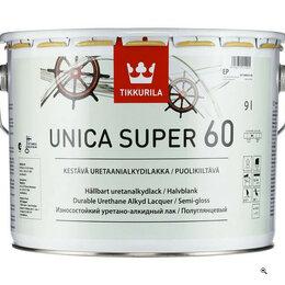 Краски - Лак яхтный 9.0 полуглянцевый Tikkurila Unica Super 60, 0