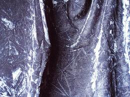 Рукоделие, поделки и товары для них - Два отреза чёрного бархата и трикотажная ткань с…, 0