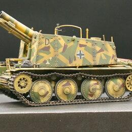 Сборные модели - 1/35 модель танка 150 мм САУ Грилле Аш с металлическими траками, 0