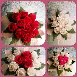 Цветы, букеты, композиции - Мыльные розы букет, 0