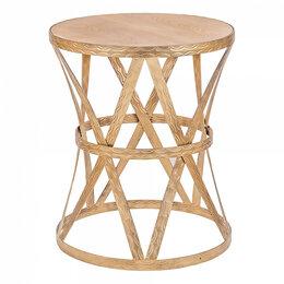 Столы и столики - Журнальный столик круглый золото 50 см Parlan gold, 0