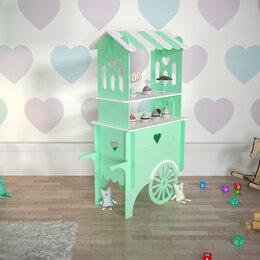 """Развивающие игрушки - Торговая тележка для игры в магазин """"Прованс"""", 0"""