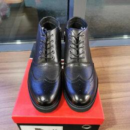 Ботинки - Кожаные броги Пьер Карден, 0