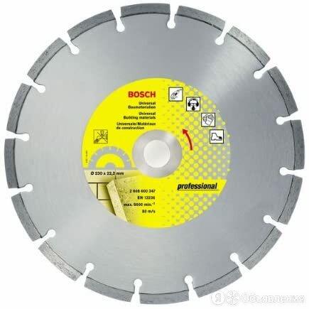 Алмазный диск Bosch Алмазный отрезной круг по бетону 230мм 230 UP BOSCH (2608... по цене 4855₽ - Для шлифовальных машин, фото 0