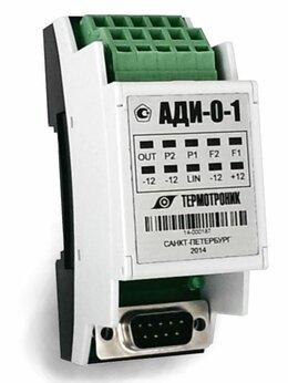Элементы систем отопления - Электронный регистратор АДИ 1-1 (Ethernet), 0