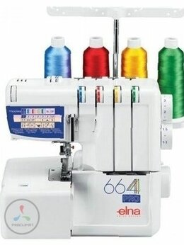 Оверлоки и распошивальные машины - Оверлок Elna 664 Pro, 0