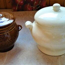 Посуда для выпечки и запекания - Горшки для запекания, новые (0,75 и 1,2 л.), 0