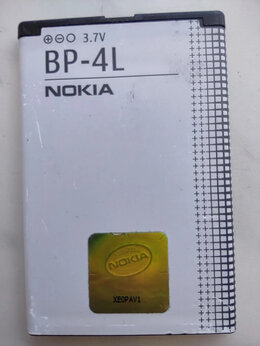 Аккумуляторы - Аккумулятор для сотовых Nokia BP-4L, 0