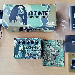 Процессоры и педали эффектов - Dunlop MXR DD-11 EU Dime Distortion (USA)/ пересыл, 0