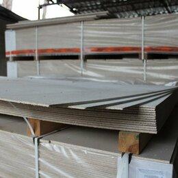 Древесно-плитные материалы - ГСП 3000х1250х10мм гипсостружечная плита , 0