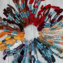 Рукоделие, поделки и сопутствующие товары - Мулине, нитки для вышивания , 0