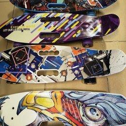 Скейтборды и лонгборды - Скейтборд Пенни борд penny board новые модели, 0