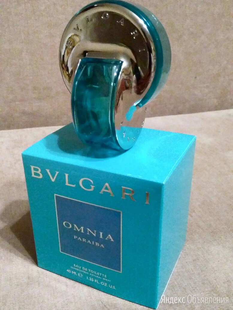 Bvlgari omnia Paraiba, 40 ml. Yves Rocher. Montale. по цене 3400₽ - Парфюмерия, фото 0