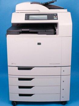Принтеры и МФУ - МФУ лазерный цветной HP LaserJet CM6040, 0